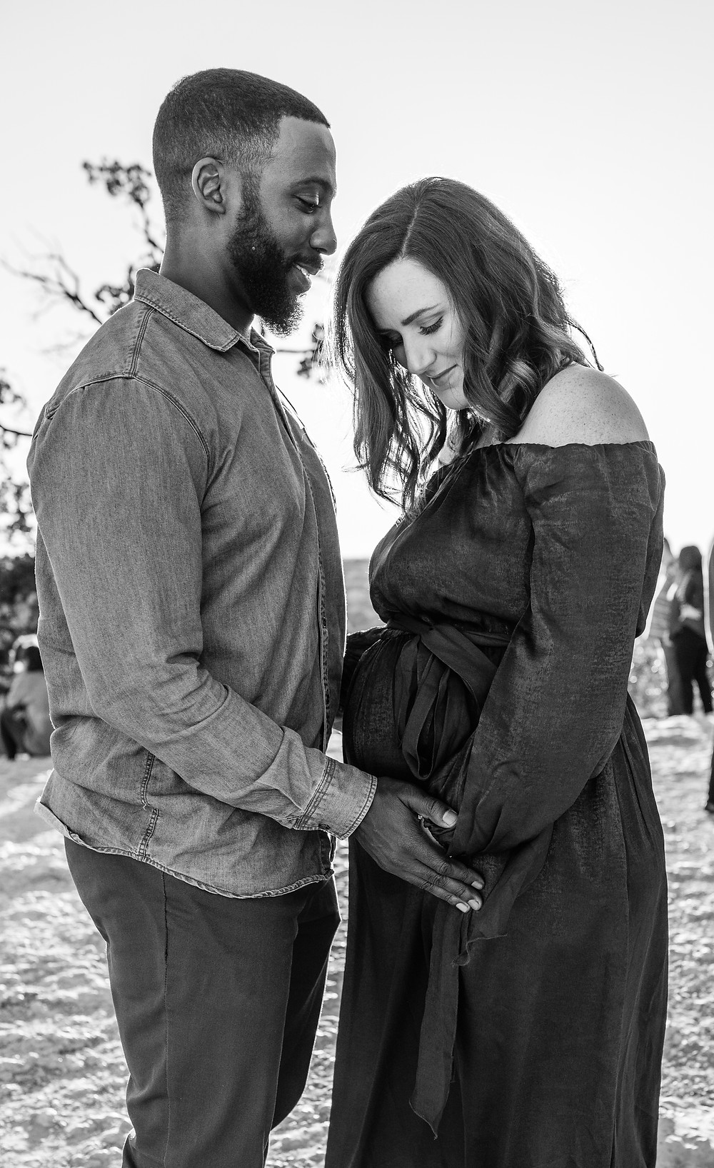 Austin TX maternity photo session
