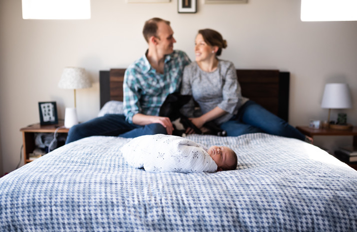 Lifestyle Newborn Photography Austin