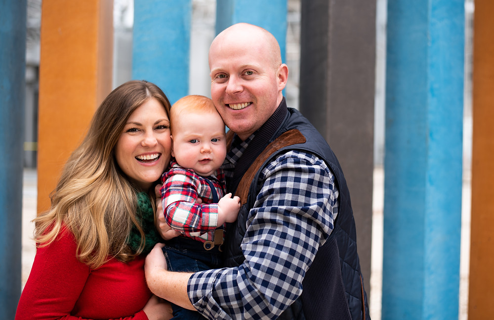 Second Street Austin Family Portrait Session
