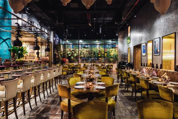 Coya Restaurant at the Four Seasons in Dubai