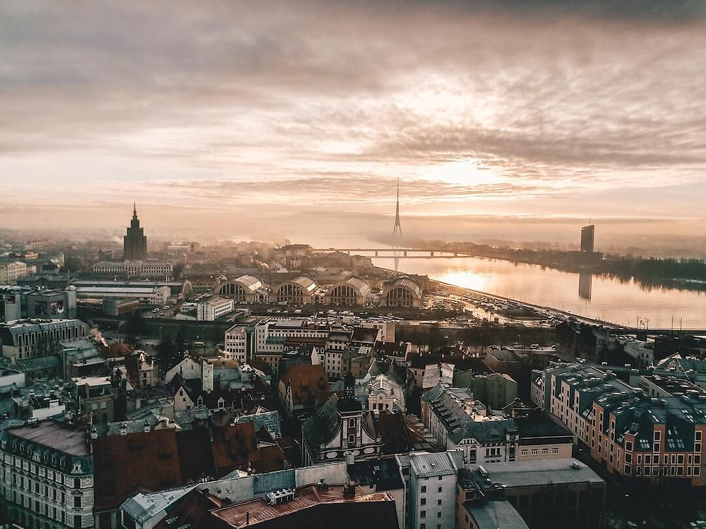 Riga from above