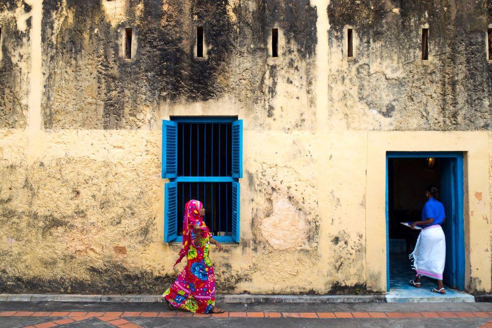 Local women in Stone Town, Zanzibar