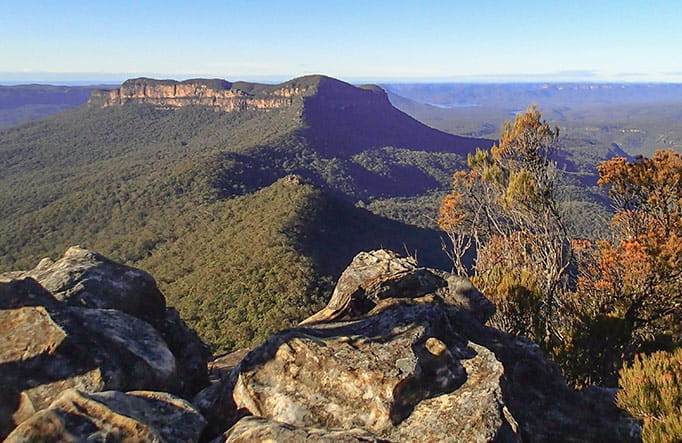 Ruined Castle in the Blue Mountains, one of the best hikes in Australia