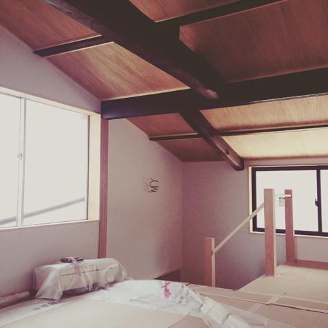 寝室 ほぼ完了
