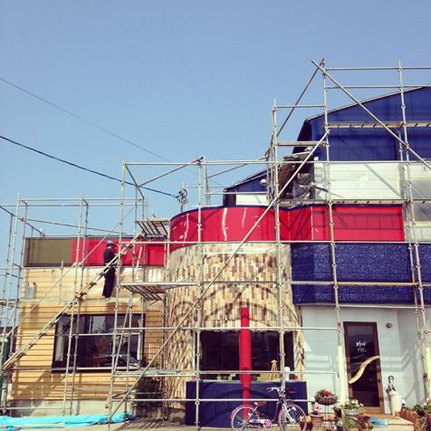 三期工事 外壁塗装