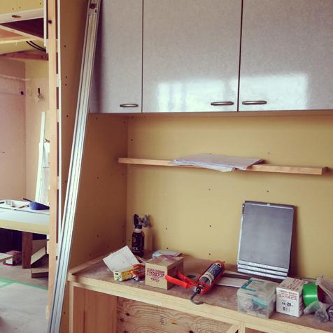 三期工事 キッチン収納