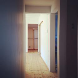 二期工事 住宅部分入口