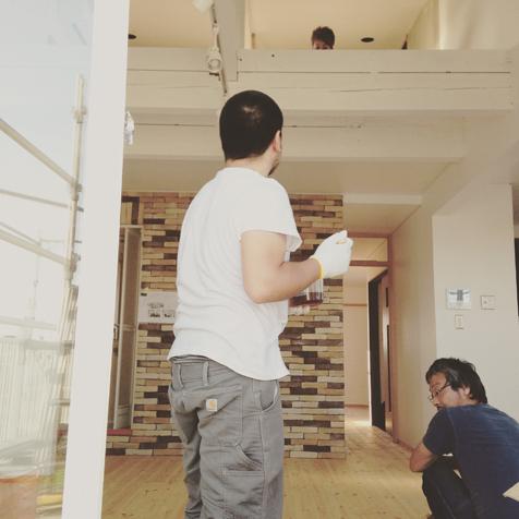 三期工事 床塗装