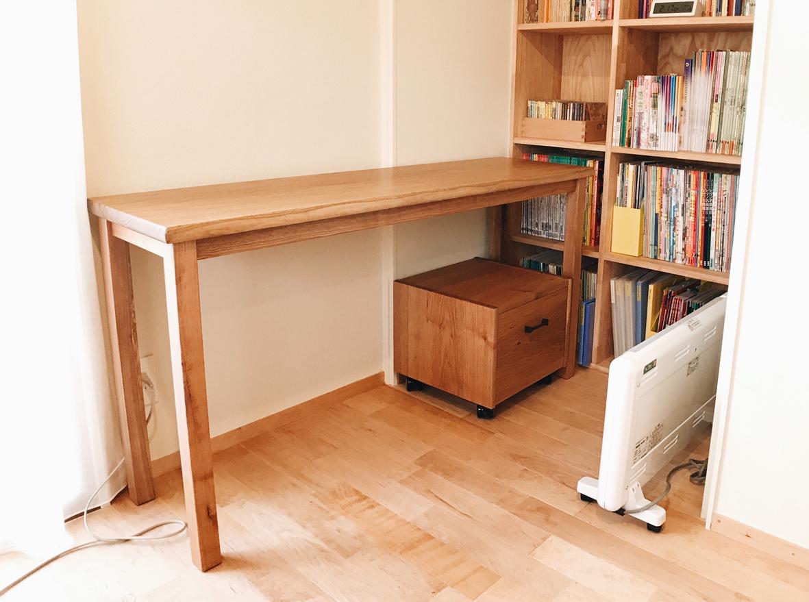 家具搬入 ワークデスク+プリンター台