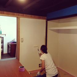 お客さま施工 壁塗装