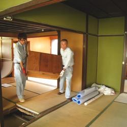 既存の家具の移動