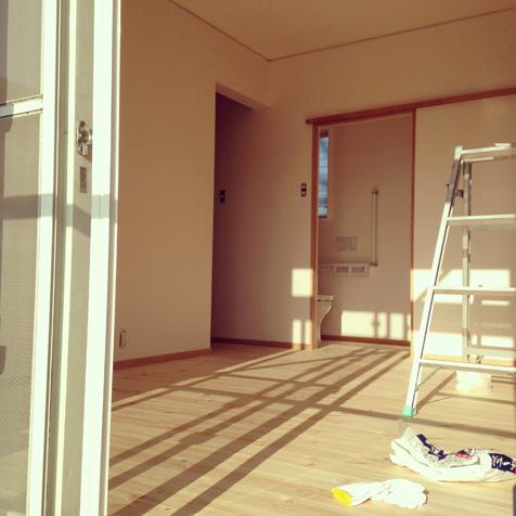 二期工事 おばあちゃんの部屋