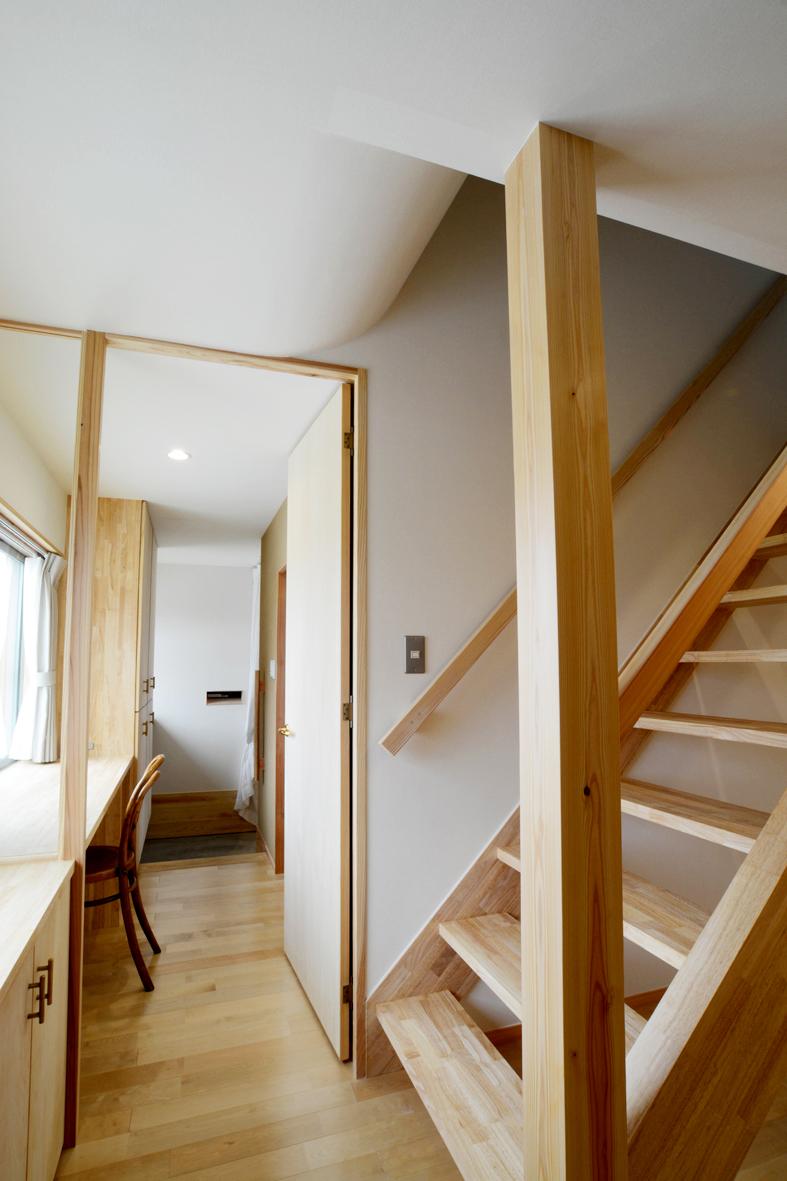 階段・ワークスペース