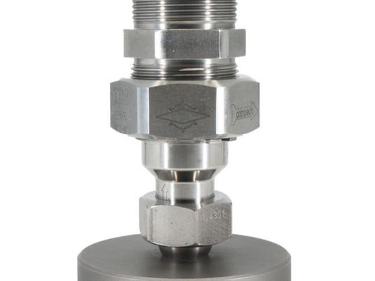 Válvula globo com válvula de retenção integrada modelo T118