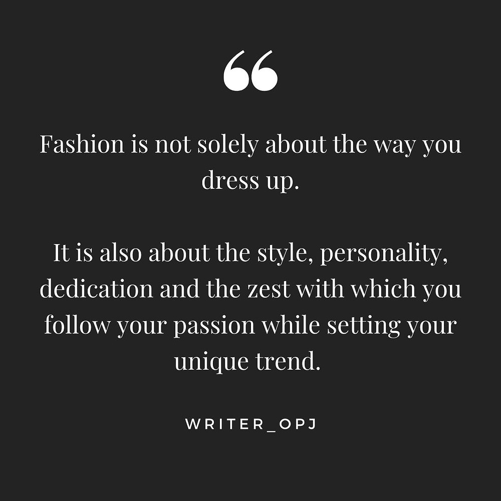 Fashion Quotes and Attitude Quotes for Morning