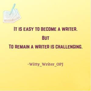 Good Morning Quotes about writer