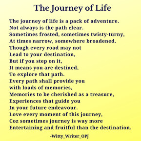 Journey of Life - English Poetry