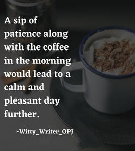 Good Morning Quotes with Coffee