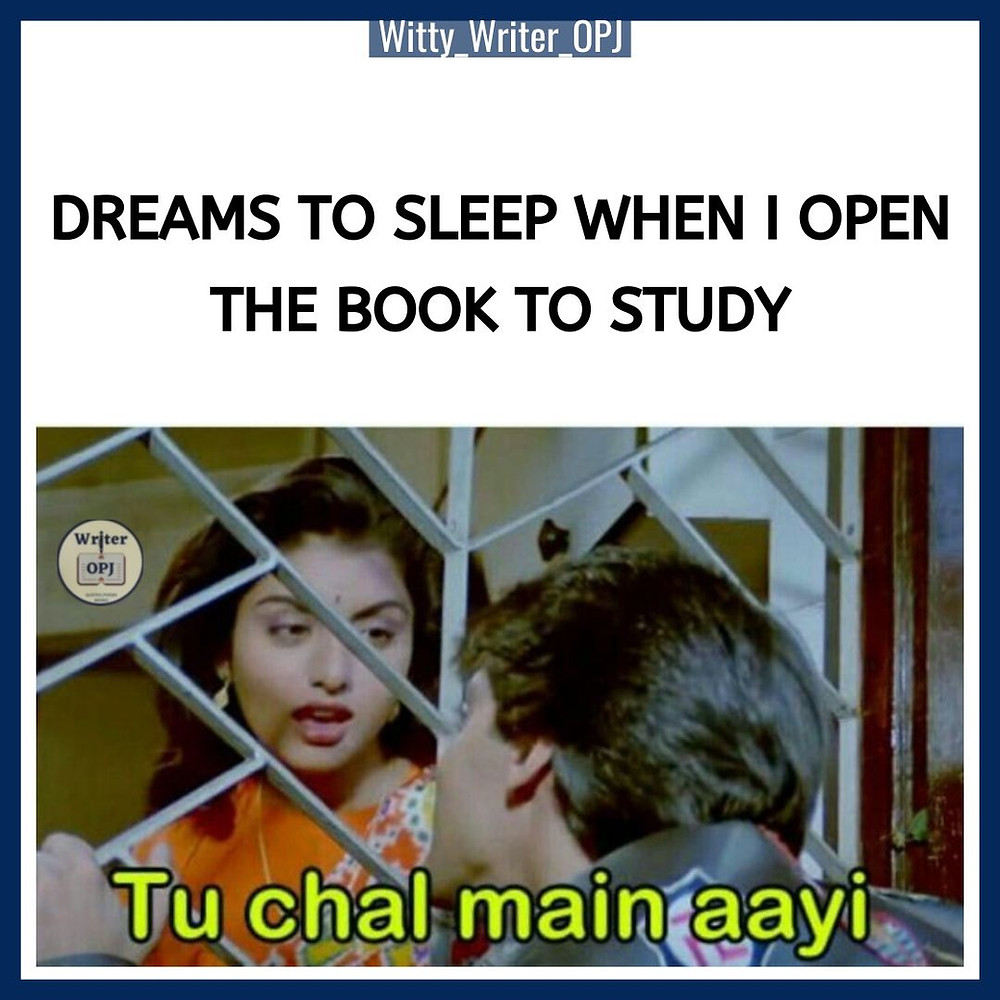 Funny exam meme featuring Salman Khan and Bhagyashree in the meme template