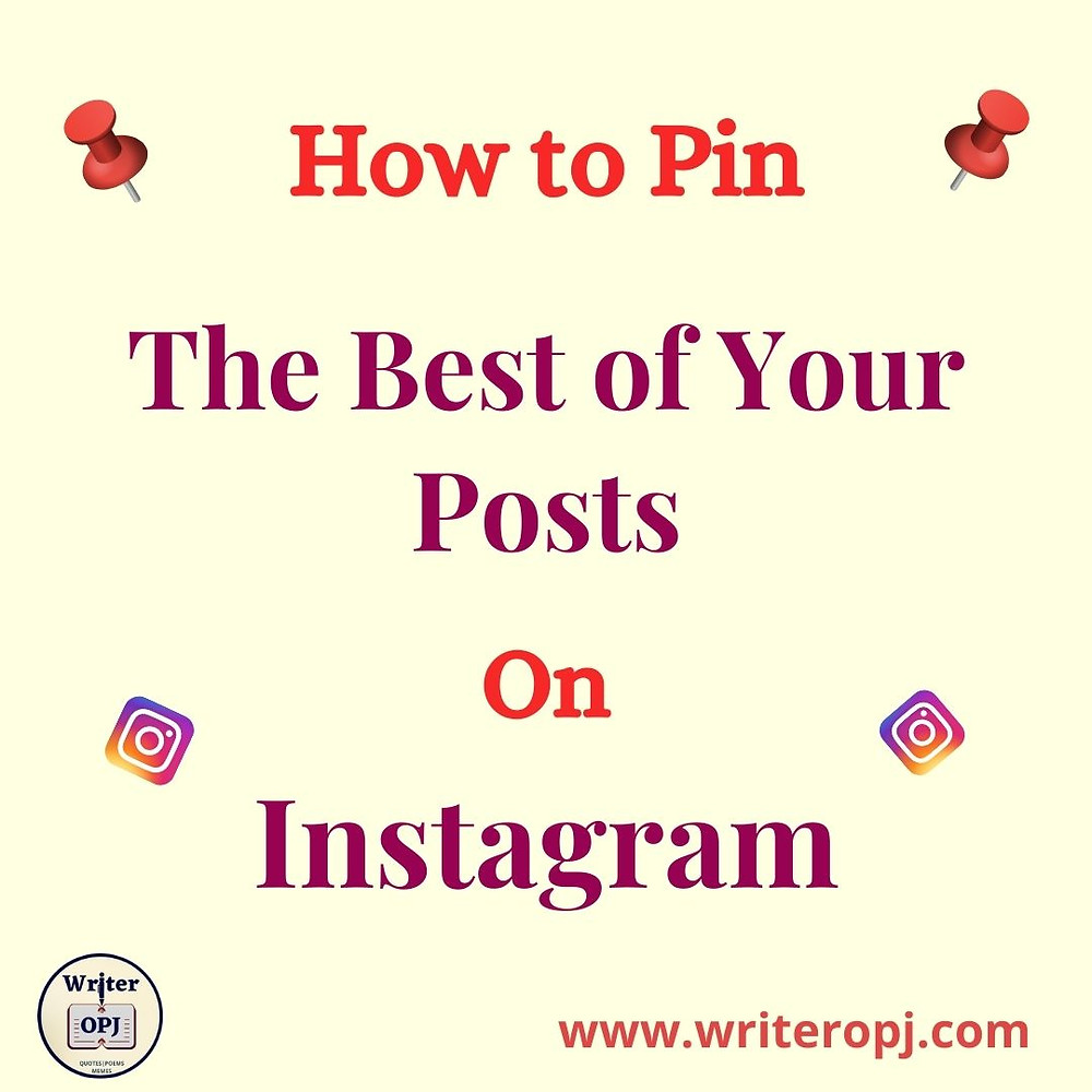 How to pin posts on Instagram
