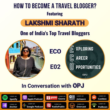 How to Become a Travel Blogger ft. LAKSHMI SHARATH