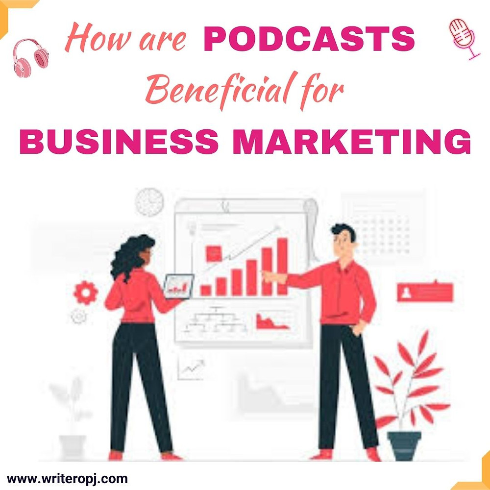 How are podcasts useful for business marketing and generating leads
