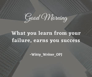 Good Morning Quotes on Success