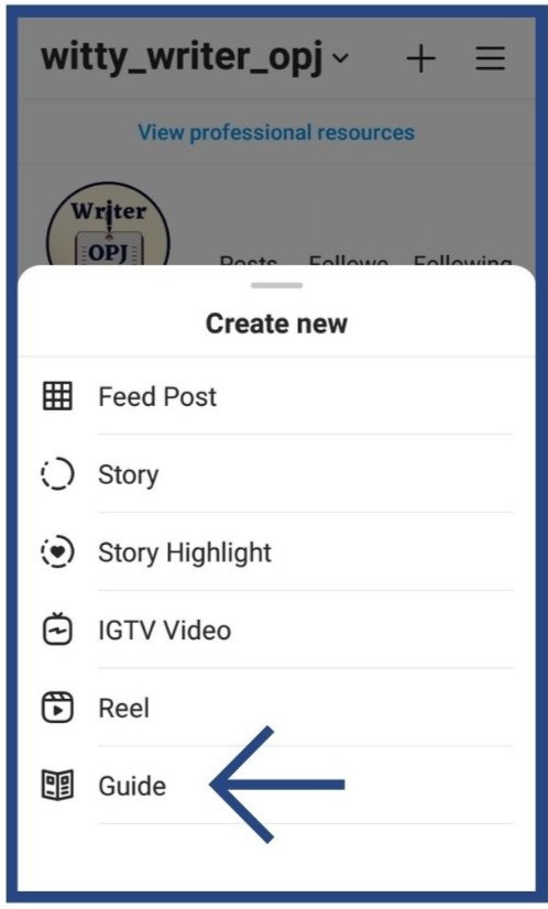 How to use the Instagram new update of Instagram Guides for Marketing of Brands and Business