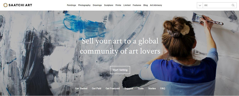 How to sell artworks on Saatchi Art