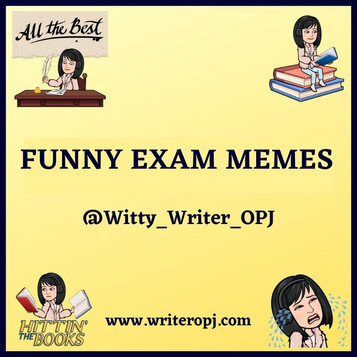 FUNNY EXAM MEMES FOR STUDENTS