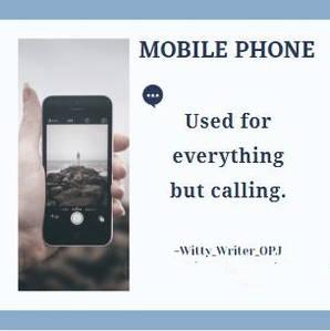 Jokes on Mobile Phones