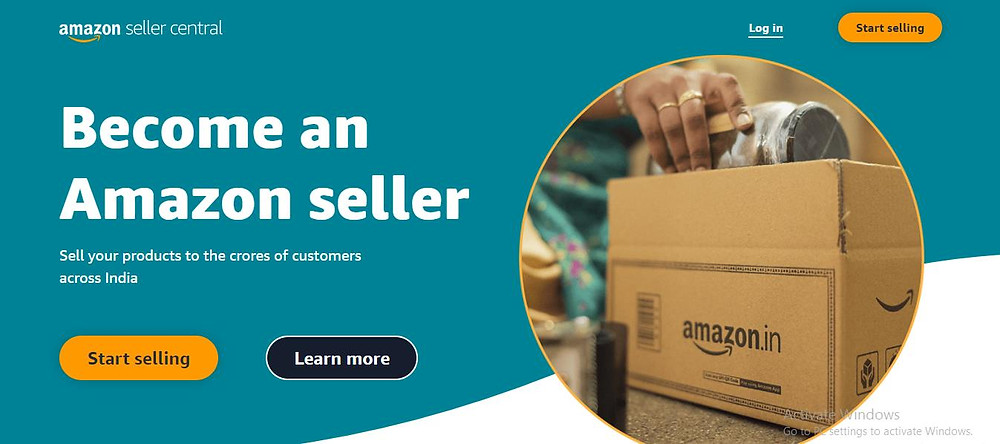 Amazon seller account to sell on Amazon
