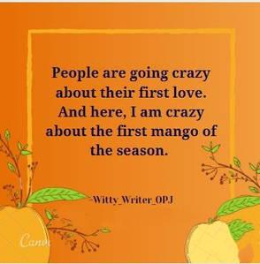 Funny Quotes Jokes on Mango