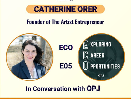How to become an Artist Entrepreneur ft. CATHERINE ORER