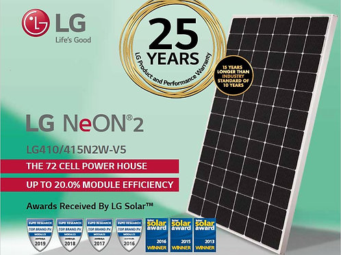 LG 410  韓國太陽能電板