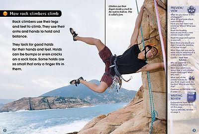 Climbing a Rock Wall