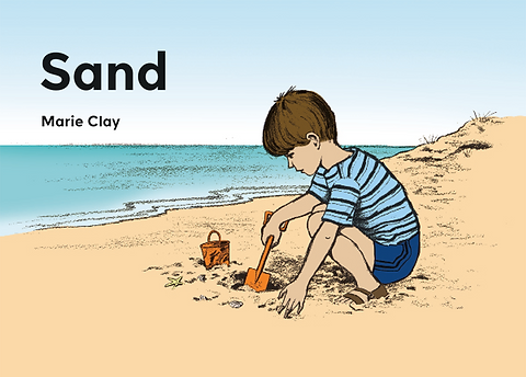 cover of the test booklet Sand