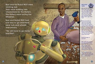 Robot RG9 Takes Over!