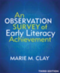 cover of the third edition Observation Survey of Early Literacy Achievement