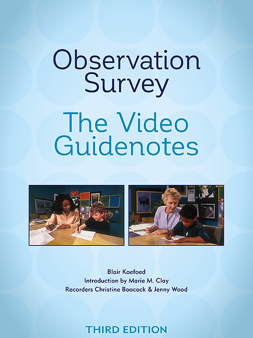 Observation Survey—The Video Guidenotes