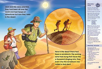 Adventure in the Desert
