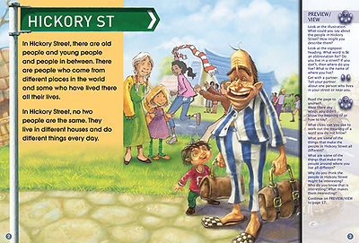 The People of Hickory Street