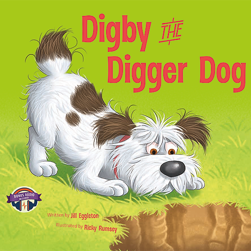 Digby the Digger Dog