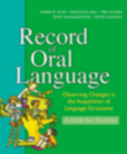 cover of Record of Oral Language