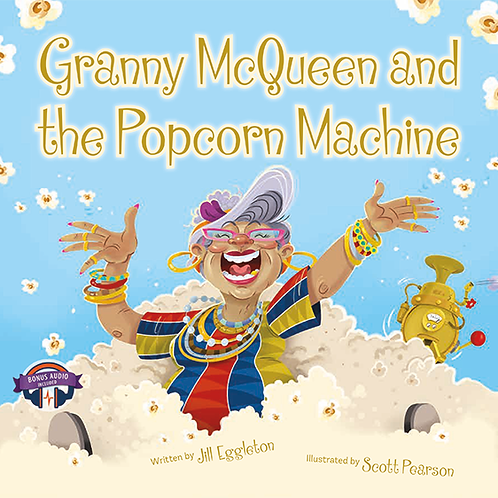 Grandma McQueen and the Popcorn Machine