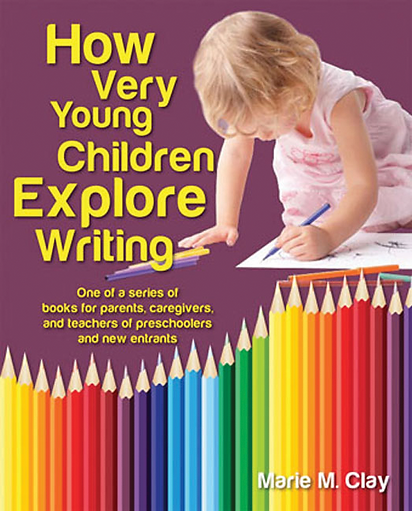 cover of  How Very Young Children Explore Writing