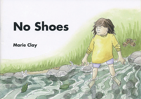 cover of the test booklet No Shoes