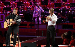 2012 UW Varsity Band Concert (Tom Wopat-gtr., Mike Leckrone-Dir., David Jones, trpt.)