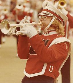 Dave Jones, UW Marching Band (1976)