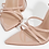 Thumbnail: Emma - Nude Patent Pointed Toe Block Heel
